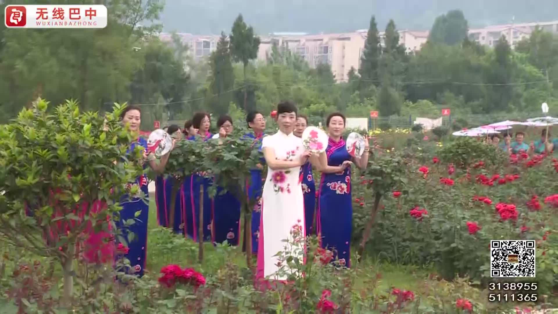 母亲节:姹紫嫣红旗袍秀 渲染山头展自信